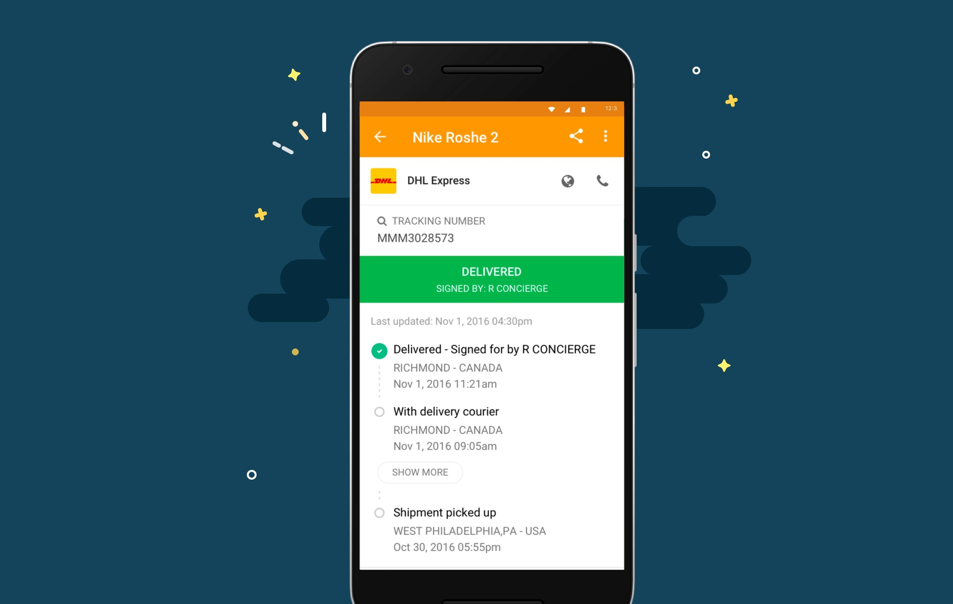 AfterShip For Android Got A New Design